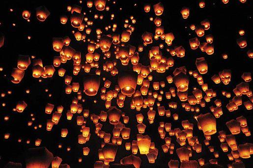 Фестиваль небесных фонариков, Тайвань